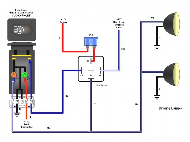 4 Wire Relay Wiring Diagram