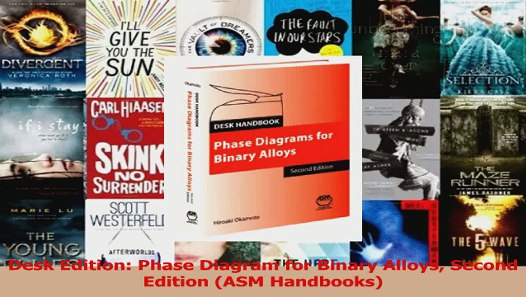 Pdf Download Desk Edition Phase Diagram For Binary Alloys Second