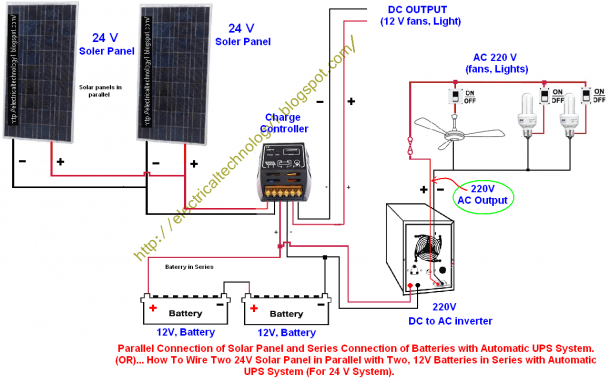 Solar Panel Wiring Series Diagram