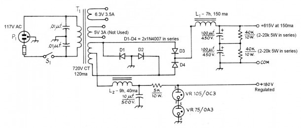 The Aa8v 6146b Amplifier