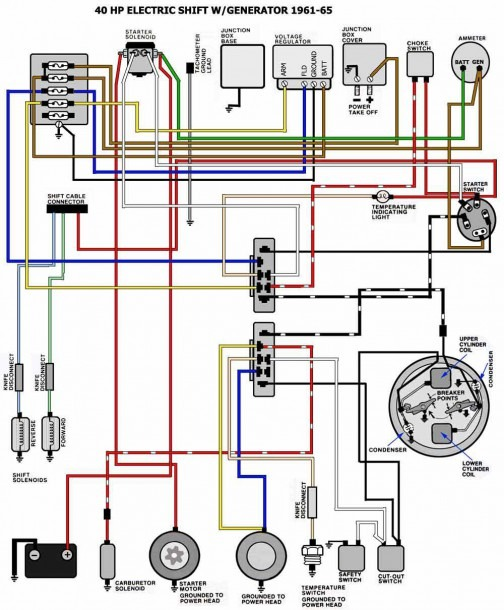 P Johnson Motor Diagram