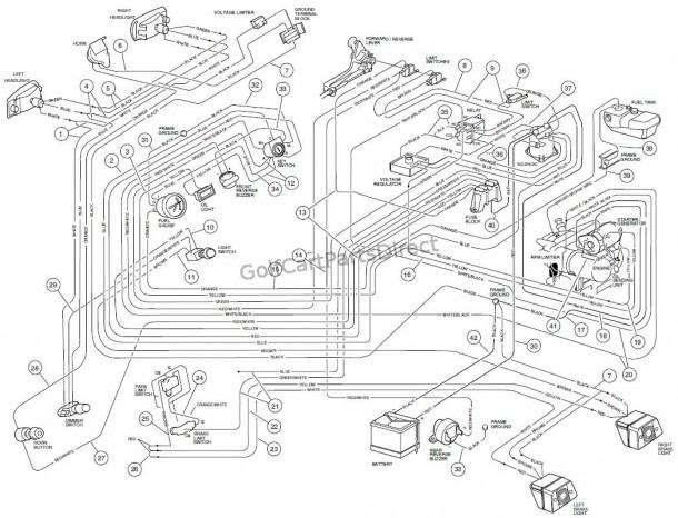 Wiring, Gasoline Vehicle