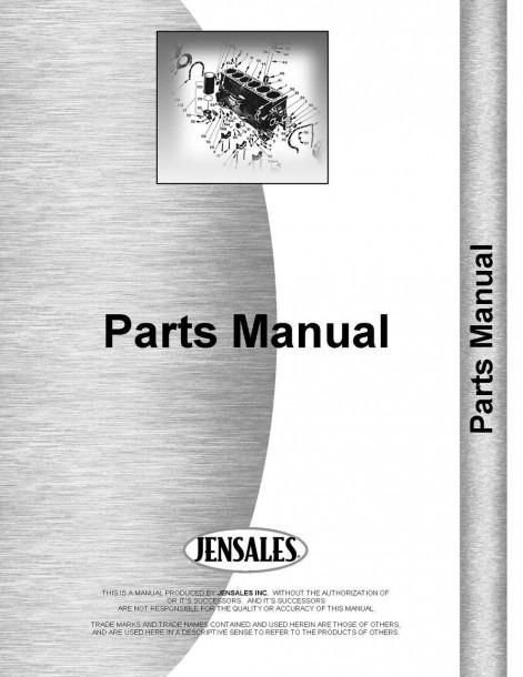 John Deere Lawn & Garden Tractor Parts Manual (jd