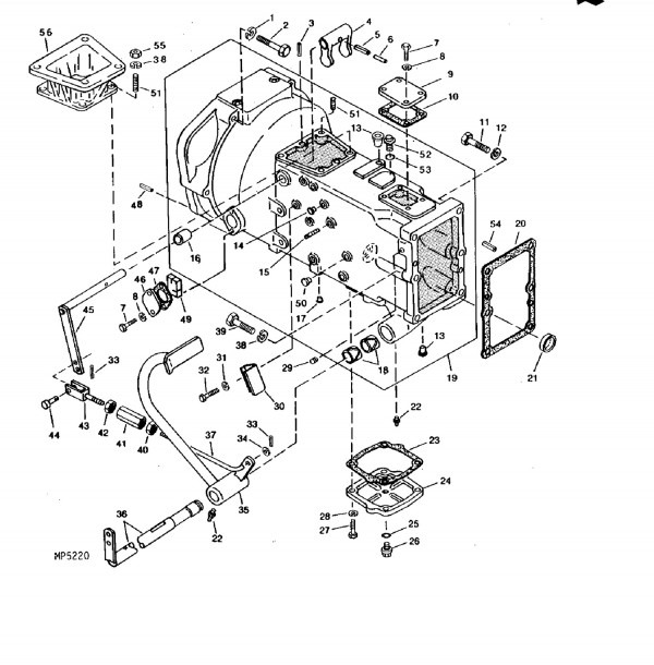 John Deere 750 Tractor Parts Diagram
