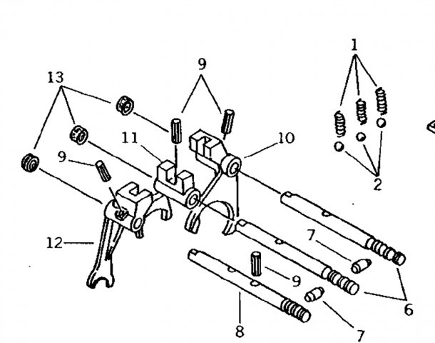 Misc Transmission Parts For John Deere Compact Tractors