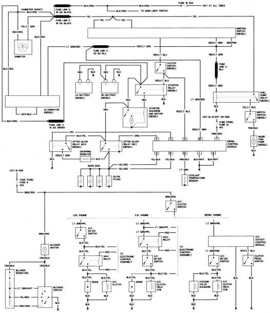 Diesel Wiring Diagram