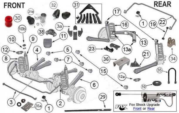 2003 jeep grand cherokee parts diagram