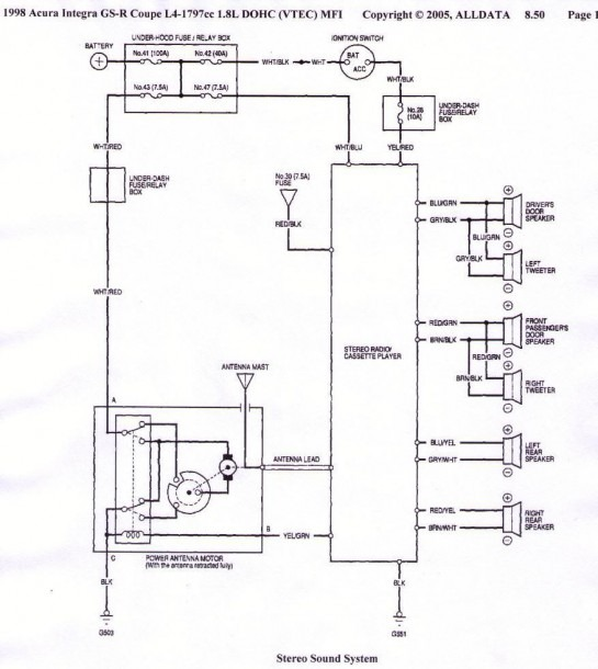 Acura Integra Wiring Diagram from www.mikrora.com