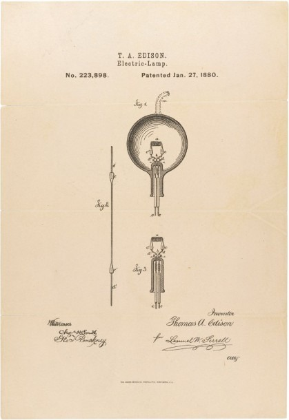 Here's One Of Thomas Edison's Many  Light Bulb  Moments  This Is
