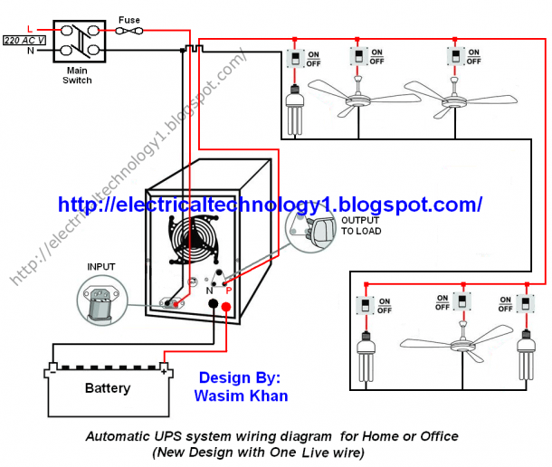 Wiring Diagram For Inverter At Home