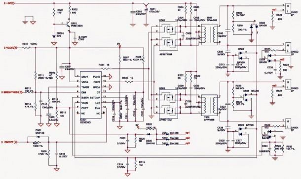 Lcd Wire Diagram