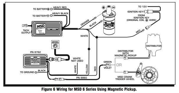 Msd 6 Wiring Diagrams