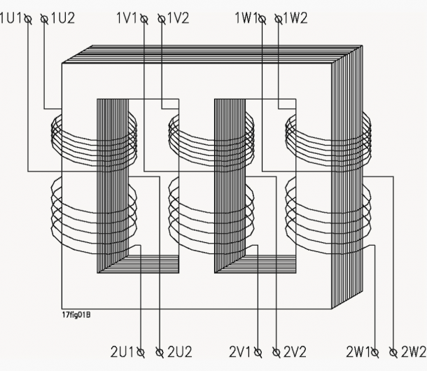 Schematic Diagram Of A Three