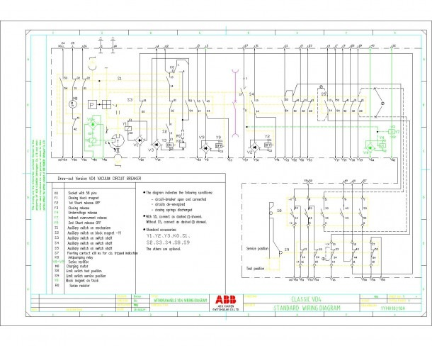 Abb Circuit Breaker Wiring Diagram Power