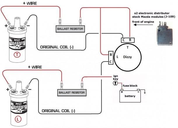 Mazda Coil Wiring