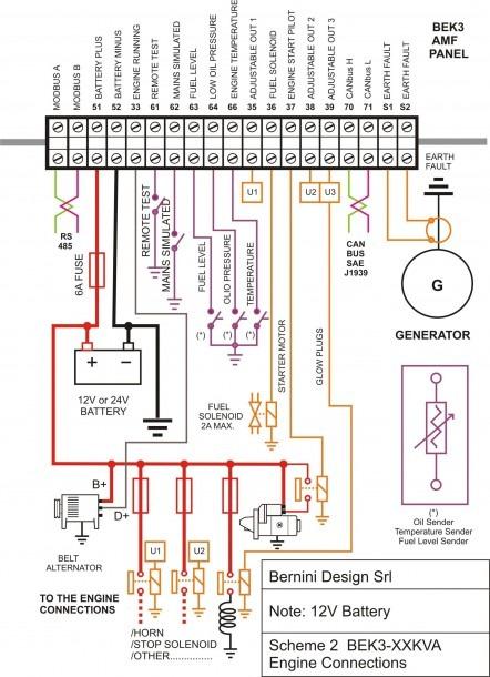 Cat 3208 Starter Motor Wiring Diagram