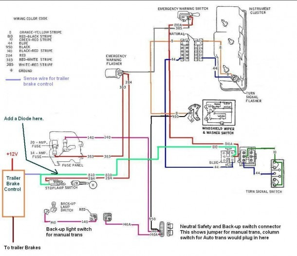 Electric Trailer Brake Controller Wiring Diagram Volovets Info