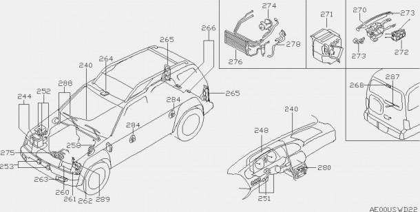 2004 Nissan Altima Parts Diagram