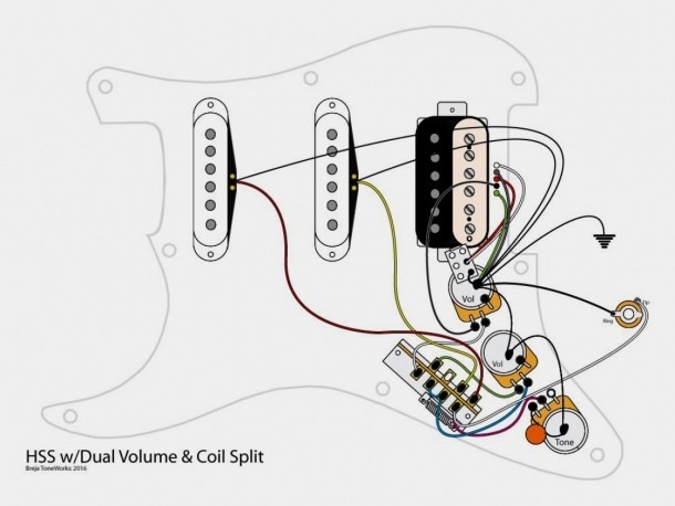 Fender stratocaster deluxe wiring diagram Electric Guitar Wiring on