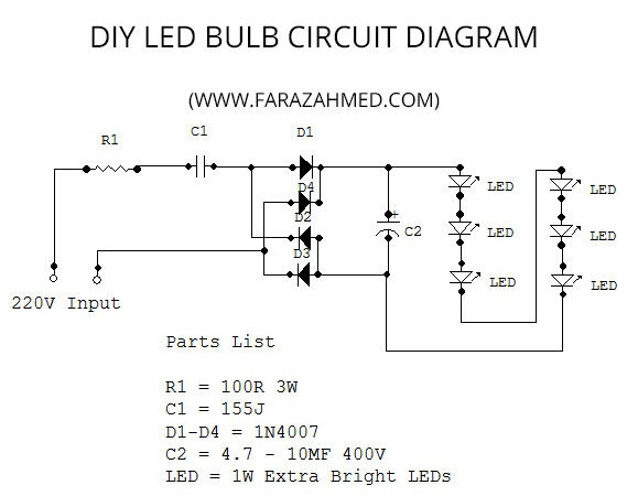Admirable Led Bulb Diagram Wiring Diagram Wiring 101 Capemaxxcnl