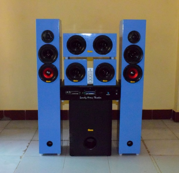 Diy 5 1 Home Theater System 700watt Rms  12 Steps (with Pictures)