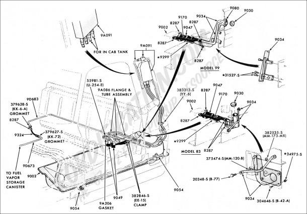 f250 6 9l fuel system diagram