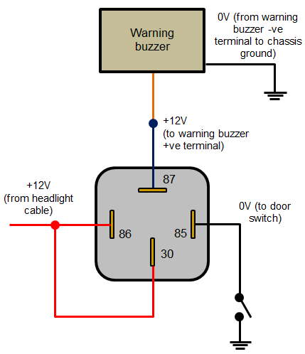 Car Relay Wiring