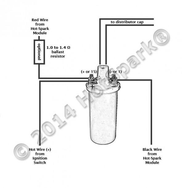 6 Volt Coil Wiring Diagram Delco Distributer
