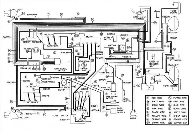 1993 Ezgo Wiring Diagram  U2013 Best Diagram Collection