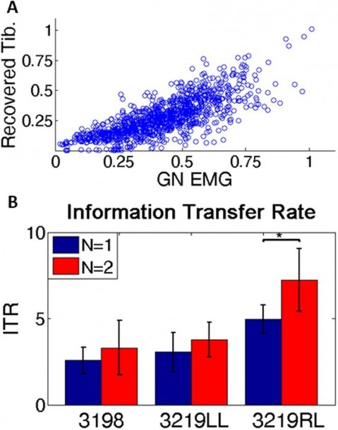 Information Calculation  (a) Scatter Plot Of Recorded Emg Vs