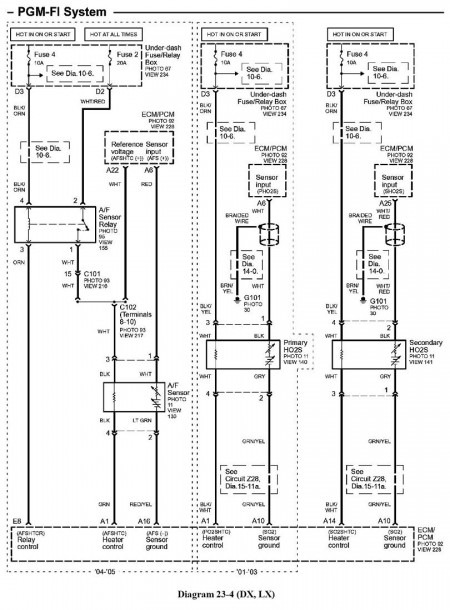 Honda Civic Transmission Wiring Diagram