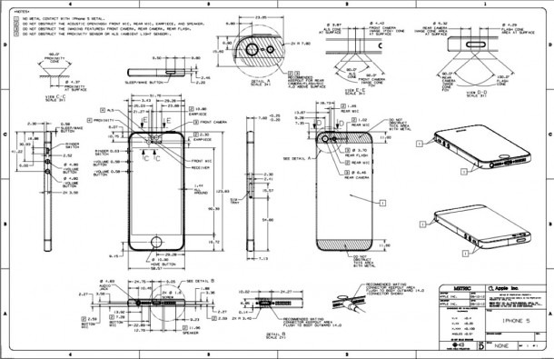 Iphone 6 Front Diagram