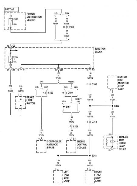 2006 Jeep Laredo Hitch Wiring Diagram