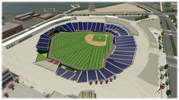 Nationals Park 3d Seating Map