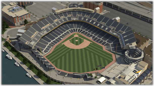 Pnc Park 3d Seating Chart
