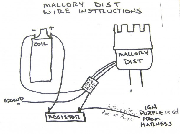Coil Inside Mallory Unilite Distributor Wiring Diagram Gooddy Org
