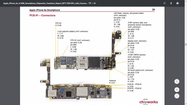 Iphone 6, 6s Full Schematic Diagram   Full Circuit Diagram