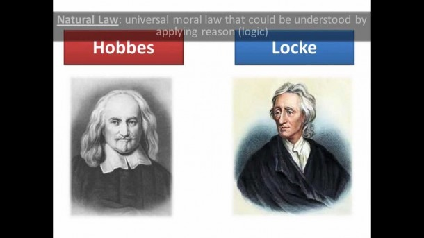 Hobbes And Locke
