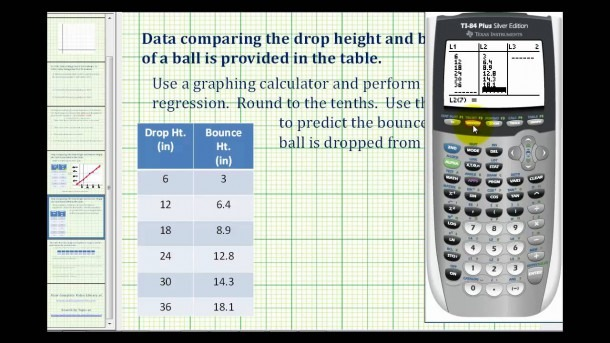 Ex 1  Create A Scatter Plot And Then Perform Linear Regression On