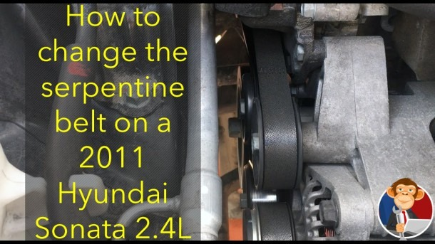 How To Change A Serpentine Belt On 2009