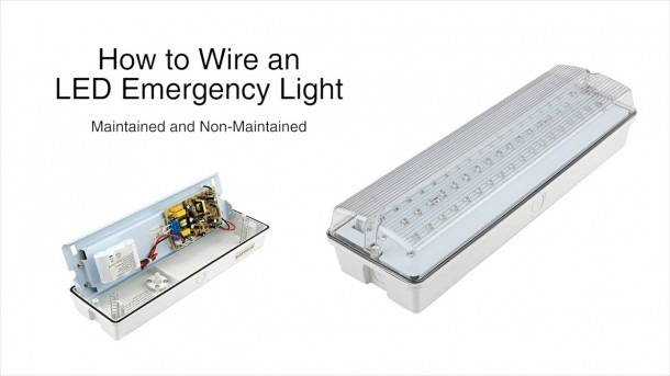 How To Wire The Biard Led Emergency Light