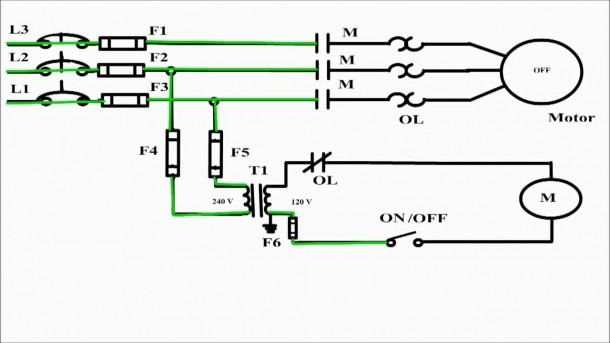 2 Wire Control Circuit Diagram  Motor Control Basics  Controlling