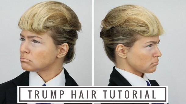 Donald Trump Hair Tutorial