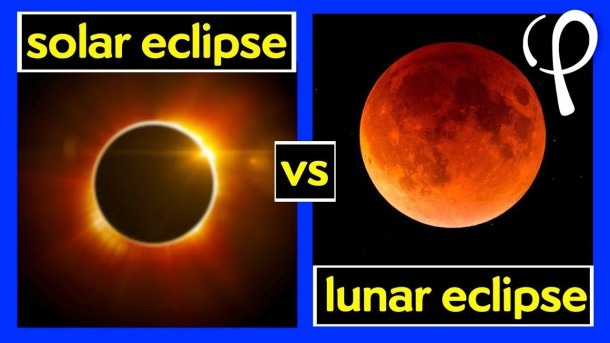 What's The Difference Between A Solar And Lunar Eclipse