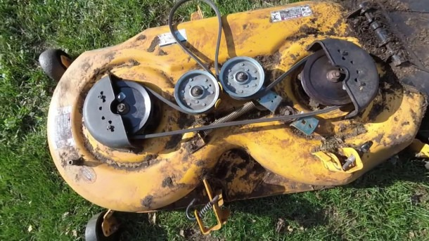 Simple Cub Cadet Belt Replacement And Deck Install