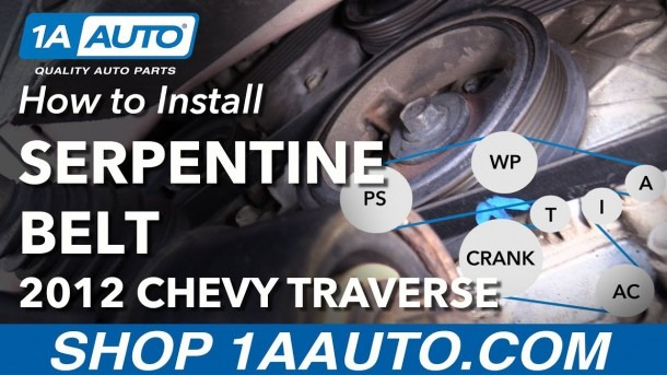 How To Install Replace Serpentine Belt 2009