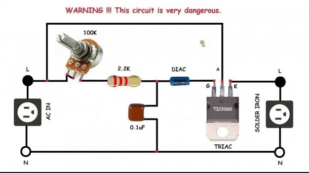 Ac Motor Speed Control Circuit  How To Make Single Phase Motor