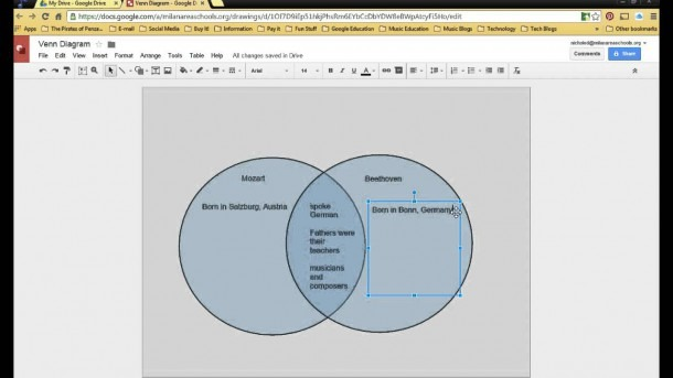 Venn Diagram In Google Draw