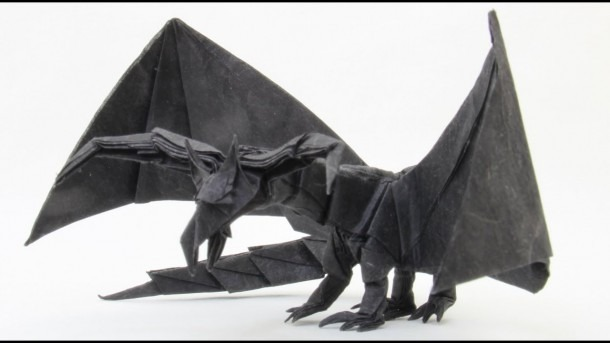 How To Make An Origami Darkness Dragon 2 0 (tadashi Mori)