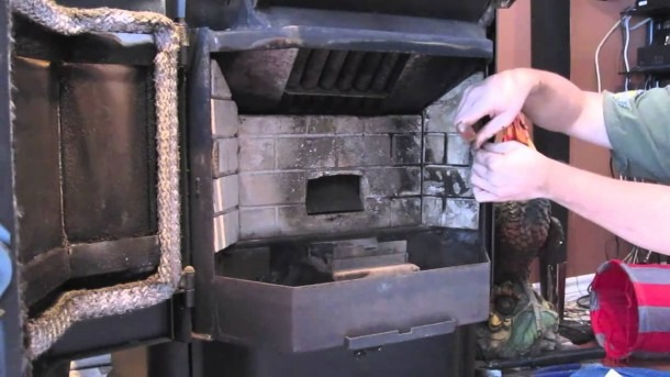 Pellet Stove Cleaning